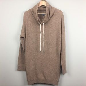 NWT Splendid Brown Cowl Neck  Pull Over Sweater